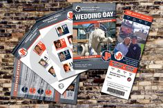 Pairing our game day wedding programs with event ticket invitations is a great way to pull your baseball theme together.  #baseballwedding  #stwdotcom