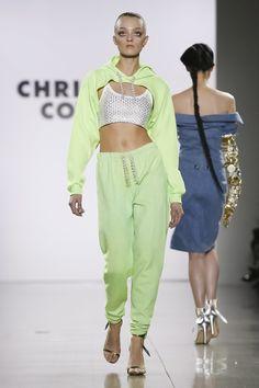 Christian Cowan Ready to Wear Fall Winter 2018 New York #ChristianCowan #NFW #newyorkfashionweek #readytowear #runway #fashion