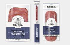 """""""Branding and packaging design for a Madej & Wróbel - local meat manufacturer from Silesia region. In the new identity the client wanted to highlight the family tradition of the company, which is named after the two owners' family names. Unfortunately the client did not use the design."""""""