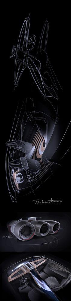 Mercedes next limo interior on Behance