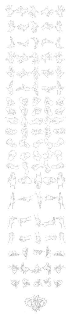 Guida per il disegno delle mani | Circolo d'Arti | Scoop.it