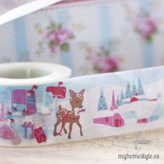 Washi Tapes, Masking Tape, Bambi, Packaging Supplies, Candels, Duck Tape, Paper Tape, Paper Decorations, Stationary