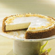 Crystallized Ginger Cheesecake - The Pampered Chef®