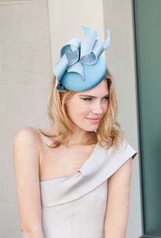 """fun straw fascinator hat -- """"Thackery Street"""" by Gina Foster millinery"""