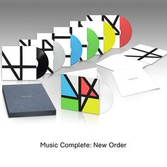New Order - Music Complete (8LP Deluxe Box Set)