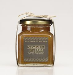 Navarino Melon Marmalade with Mastic Lemon Marmalade, Chios, Greek Isles, Candle Jars, Perfume Bottles, Food, Products, Candle Mason Jars, Greek Islands