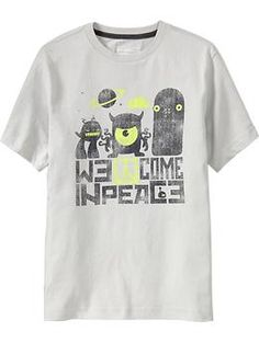 Old Navy - Boys Humor Graphic Tees