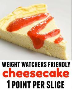WEIGHT WATCHERS ONE POINT CHEESECAKE
