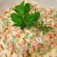 """russischer Salat """"Olivje"""" - light"""