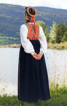 FolkCostume&Embroidery: Overview of Norwegian Costumes, part The eastern heartland Folk Costume, Costumes, Norwegian Clothing, Heartland, Norway, The Row, Scandinavian, All Things, Two By Two