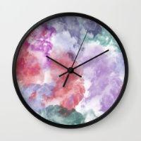 Abstract IX Wall Clock
