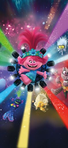 Get some Trolls World Tour wallpaper HD images of Dreamworks diamond queen barb poppy screenshots 2020 movie Characters to use as iPhone android wallpaper phone backgrounds Cartoon Wallpaper Hd, Movie Wallpapers, Disney Wallpaper, Iphone Wallpaper, Hd Phone Backgrounds, Los Trolls, Poppy Images, Birthday Party Invitations Free, Phineas Y Ferb