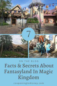 7 Facts & Secrets About Fantasyland In Magic Kingdom