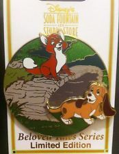 Fox and the Hound Beloved Tales Series Pin
