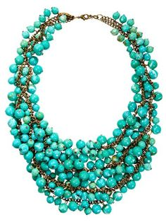 this necklace would make a simple outfit look 5x more amazing
