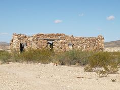 old adobe desert | Terlingua Texas small old west TX town in the Chihuahuan Desert 2010 ...