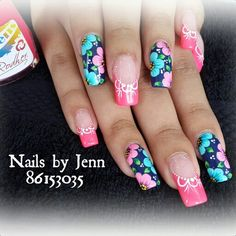 Cute Nails, Pretty Nails, Cute Designs, Nail Art Designs, Gel Nails, Acrylic Nails, Neutral Nails, Lucky Girl, Nail Art Stickers