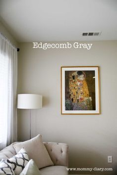 Revere Pewter or Edgecomb Gray: Gray and Greige Wall Inspirations — Mommy Diary
