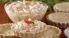 #Receita de tortinha de #palmito sem #lactose