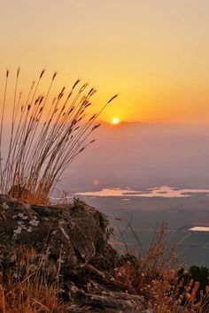 Sunrise over the Hula Valley in northern Israel