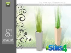 SIMcredible!'s Flora big grass potted