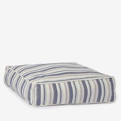 Sublime Stripe Square Luxury Dog Bed