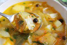 Постный суп с пшеном за 30 минут