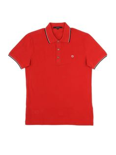 ea77242c3f6b3d New Gucci Men s 353900 Blue Web Stripe Interlocking GG SLIM Polo Shirt S   Gucci  PoloRugby. Fierro · Men s polo shirts · GUCCI Red Polo Shirt With  Contrast ...