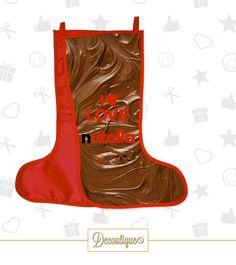 CALZA PERSONALIZZATA #handmade #calza #love #befana #heart #chocolate #nutella #cioccolatini #golosità #amore #napoli #italia #befana #epiphany #epifania #regalo #notte #strega #scopa #idearegalo #diy #ilovenutella  Codice: BEF01 Prezzo: 10,00 € Spedizione in Italia: 6,00 €  Per prenotare la tua Calza contattaci in privato o all'indirizzo email info@decoutique.it Personalizza la tua Calza con lo stile più adatto a te. Affidati a noi per la tua proposta grafica!
