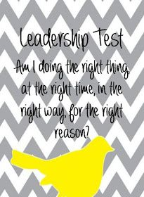 Principal Principles: The Leadership Test