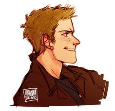 mine supernatural dean winchester sam winchester doodles 9 days without my tablet and only bad movies and supernatural