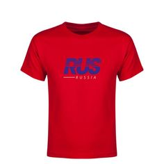 Russia Motion Youth T-Shirt (Red)