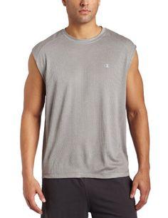 Champion Men's Double Dry Training Muscle Tee: Amazon.com: Clothing