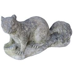 1stdibs | English Garden Stone Squirrel