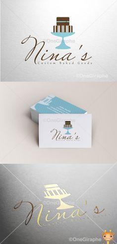 Nina's Custom Baked Goods www.ninascbg.com #cake #cupcake #cake #bake #bakery…
