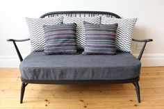 Ercol Windsor 2 seater sofa by OwlAndTheElephant on Etsy Ercol Sofa, Ercol Furniture, 2 Seater Sofa, Upcycled Furniture, Home Projects, Love Seat, Family Room, Upholstery, New Homes