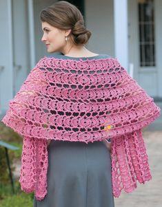 47 Ideas crochet shawl pattern beautiful for 2019 Crochet Poncho, Thread Crochet, Crochet Scarves, Lace Knitting, Crochet Clothes, Crochet Lace, Crochet Stitches, Free Crochet, Crochet Doilies