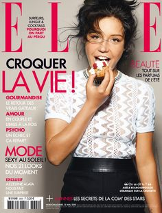 Adèle Exarchopoulos for ELLE France May 2015 (n°3620)