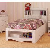 Found it at Wayfair - Dixie Storage Bed and Optional Bookcase Headboard