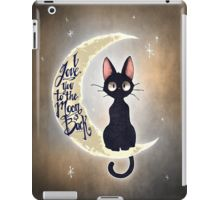 This is Jiji, the cat from Kiki's Delivery Service! I love this film! I love you to the moon & back by Tim Shumate <- His artwork is awesome! Crazy Cat Lady, Crazy Cats, Cat Love, Oeuvre D'art, Cute Cats, Funny Cats, Cute Animals, Illustrations, Drawings