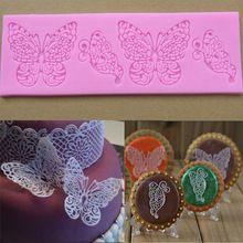 Di alta qualità nuovo mestiere di diy del silicone della farfalla lace stampo cake decorating pasta utensili da cucina spedizione gratuita akdv  (China (Mainland))