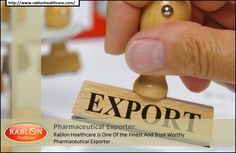 Rablon Healthcare - Pharmaceutical Exporter Having Incredible Leadership Qualities  Conquering the pharmacy market with amazing qualities of distributing their medical drugs has made Rablon healthcare to become favorites of consumers.  For more :  http://rablondrugwholesaler.blogspot.in/2014/07/rablon-healthcare-pharmaceutical.html