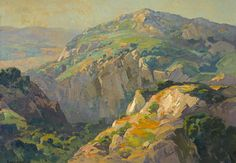 thusreluctant:  Canyon Green by Franz Arthur Bischoff