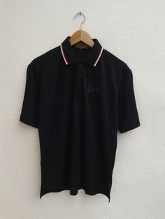 f0a9a1391 Vintage 90 KENZO Golf Sportswear Gear Embroidered Monogram Polos Shirt Size  2 by BubaGumpBudu on Etsy