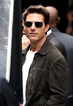 Celeb Style File: Tom Cruise sporting square aviators