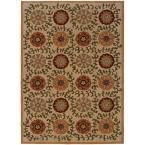 Mola Beige 7 ft. 8 in. x 10 ft. 10 in. Area Rug