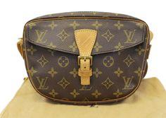 LOUIS VUITTON Monogram Canvas Jeune Fille PM Crossbody Bag