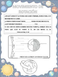 "La clase de Mar: PROYECTO ""UNIVERSO"" 5 AÑOS Fifth Grade, Study Notes, Interactive Notebooks, Science Projects, Solar System, Astronomy, Homeschool, Teacher, Activities"