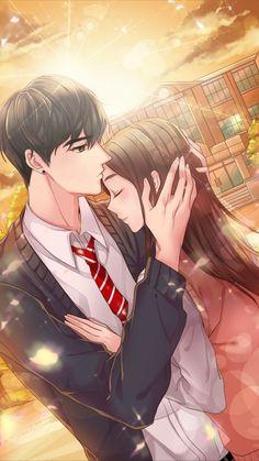 19 Trendy ideas for anime art love couples Art Love Couple, Cute Couple Drawings, Anime Couples Drawings, Anime Love Couple, Anime Couples Manga, Romantic Anime Couples, Fantasy Couples, Cute Anime Couples, Anime Love Story