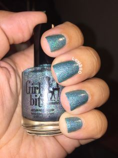 "This is ""Get Weaponized"" by Girly Bits.  This polish is so gorgeous I found myself gawking at my nails constantly.  This is a must have ladies."
